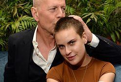 Bruce Willis pozuje z córką Tallulah Willis. Tak spędzają kwarantannę