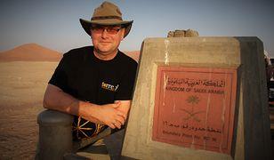 Sudan. Zdjęcie z Lewandowskim przepustką do kopalni złota