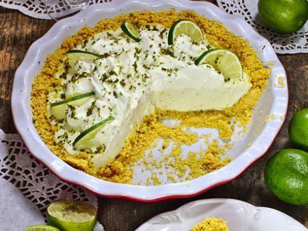 Key lime pie, czyli limonkowe ciasto bez pieczenia