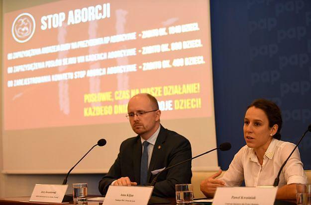 Ordo Iuris przygotowuje analizy ws. projektu zaostrzenia ustawy antyaborcyjnej. Nowicka: chcą nas zmęczyć