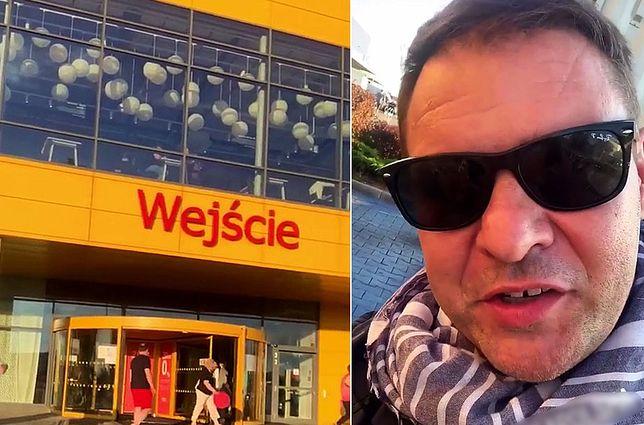 Tomasz Karolak nie rozumie, dlaczego został wyproszony ze sklepu