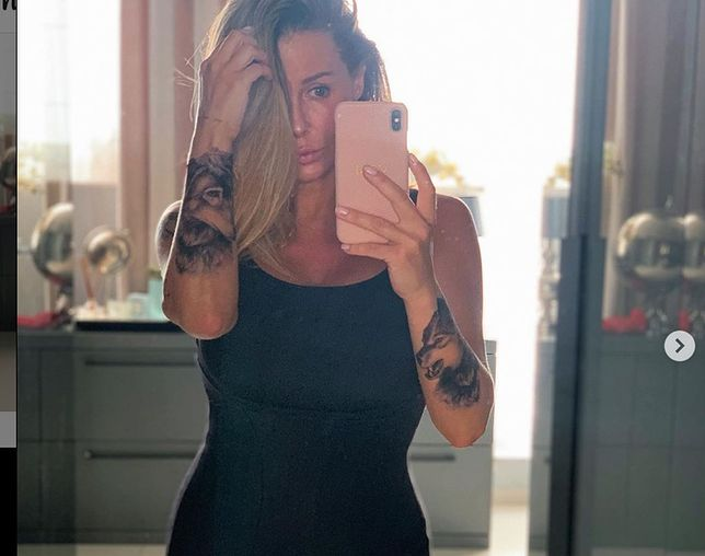 Małgorzata Rozenek śmiało pokazuje ciało po ciąży