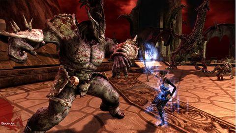 Tak wygląda granie Mrocznym Pomiotem w Darkspawn Chronicles