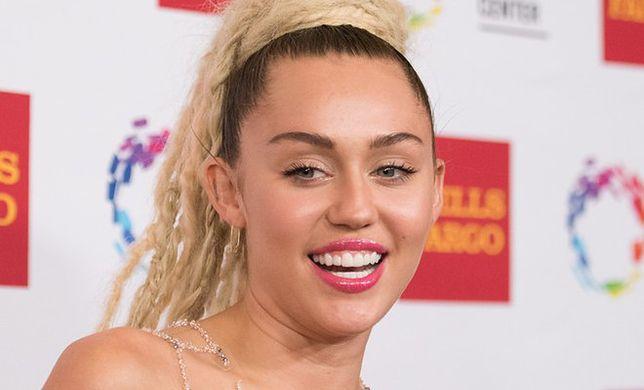 Miley Cyrus i zalotka czyli jak celebrytka straciła rzęsy