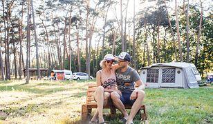Ilona Kostecka z mężem często jeżdżą na campingi w Polsce.