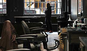 Fryzjerzy w pandemię koronawirusa. Zdjęcie ma charakter ilustracyjny