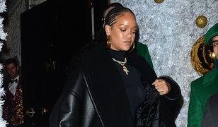 Rihanna w Winter Wonderland
