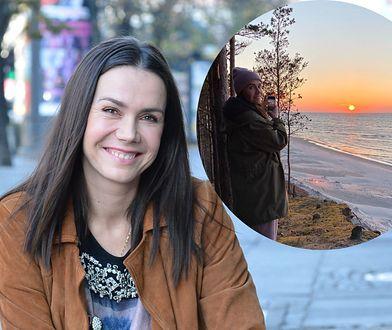 Olga Bołądź pokazała magiczne zdjęcie polskiego morza