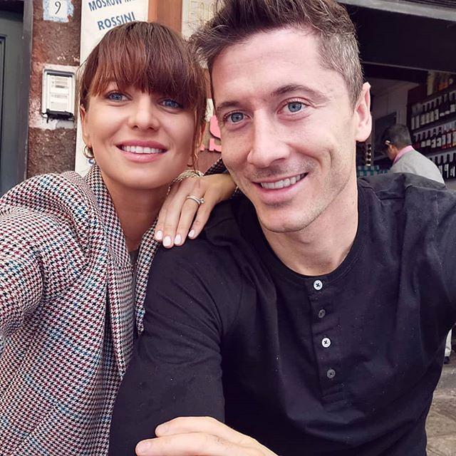 Anna i Robert Lewandowscy świętują Oktoberfest