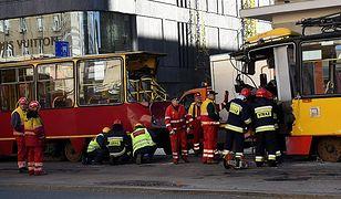 Zderzenie tramwajów linii 7 i 9