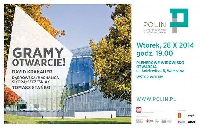 Jutro otwarcie Muzeum Historii Żydów Polskich. Możliwe utrudnienia na ulicach