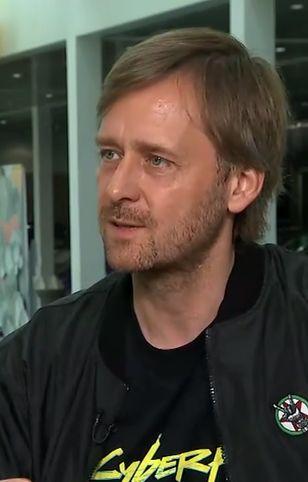Marcin Iwiński w rozmowie z Bloombergiem