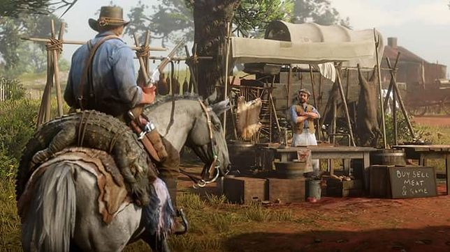 """Rockstar Games wypuściło nową aktualizację do """"Red Dead Online"""" - trybu sieciowego Red Dead Redemption 2"""