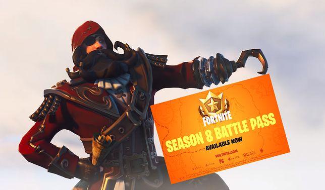 """W nowym sezonie """"Fortnite"""" gracze zamienią się w piratów"""