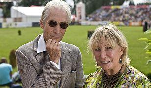 Charlie Watts z żoną Shirley