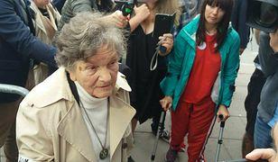 Wanda Traczyk-Stawska po raz trzeci nie została wpuszczona do Sejmu