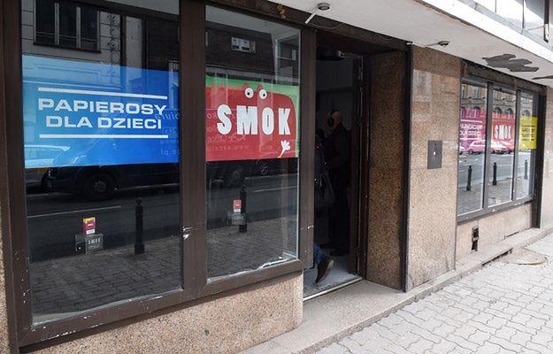 """Wyjaśniło się, co będzie w """"sklepie z papierosami dla dzieci"""""""