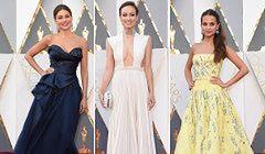 Oscary 2016 - gwiazdy na czerwonym dywanie