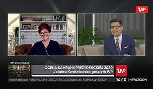 Jolanta Kwaśniewska ocenia zaangażowanie Agaty Kornhauser-Dudy. Mówi, czego brakuje Polakom