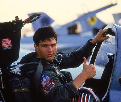 "Tom Cruise w ""Top Gun"""