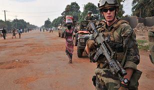 Francuskie wojska w Bangi