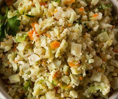 Ryż z kalafiora to obowiązkowy składnik diety paleo