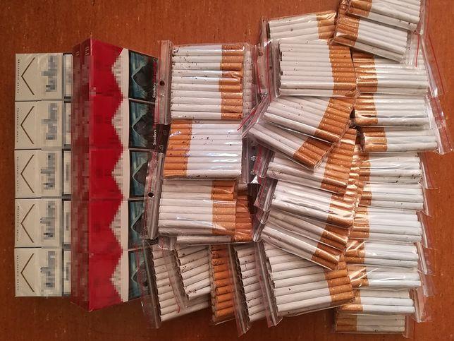 Warszawa. Policja przejęła podrabiane papierosy i zatrzymała podejrzanego o handel nimi