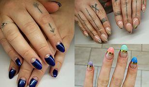 French manicure ślubny ma wiele form i kolorów
