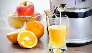 Świeży, samodzielnie przyrządzony sok to samo zdrowie