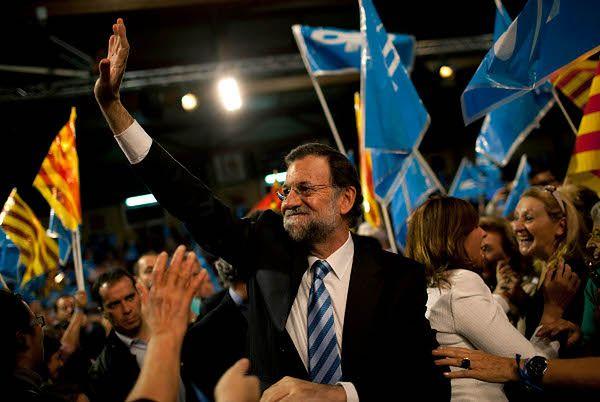 Koniec Zapatero - wstępne wyniki wyborów w Hiszpanii