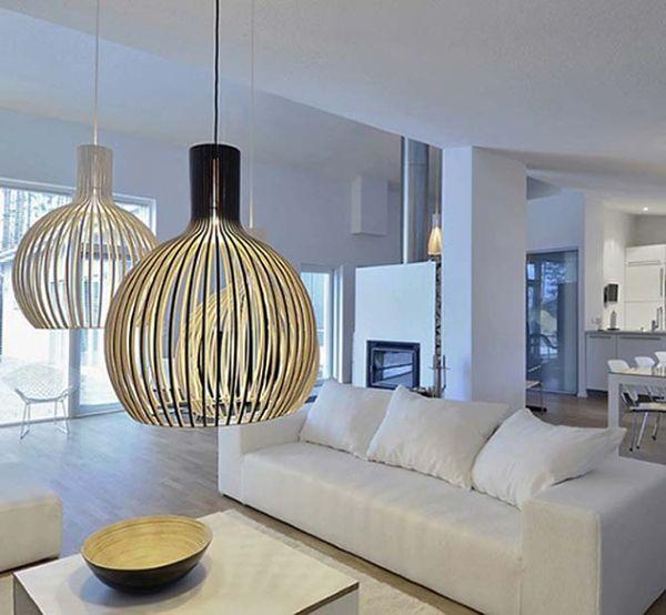 Modna lampa do salonu