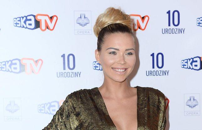 Sandra Kubicka pojawiła się na 10. urodzinach stacji Eska