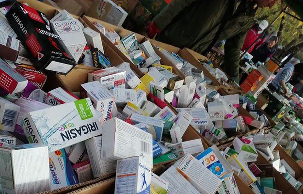 Leki do kupienia na warszawskim bazarze