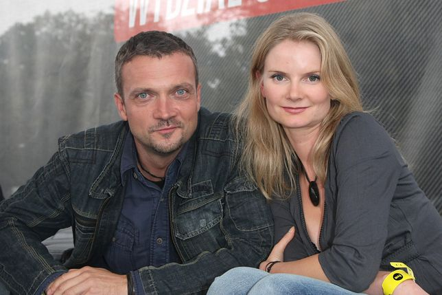 Joanna Czechowska i Sebastian Wątroba