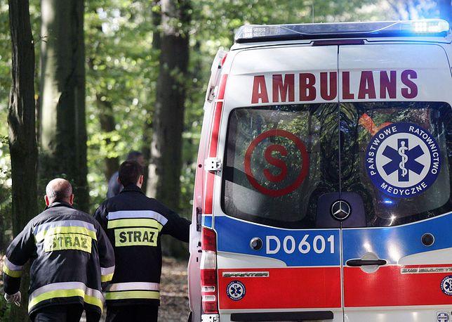 Tragedia pod Tarnowem. Nie żyje 62-latek