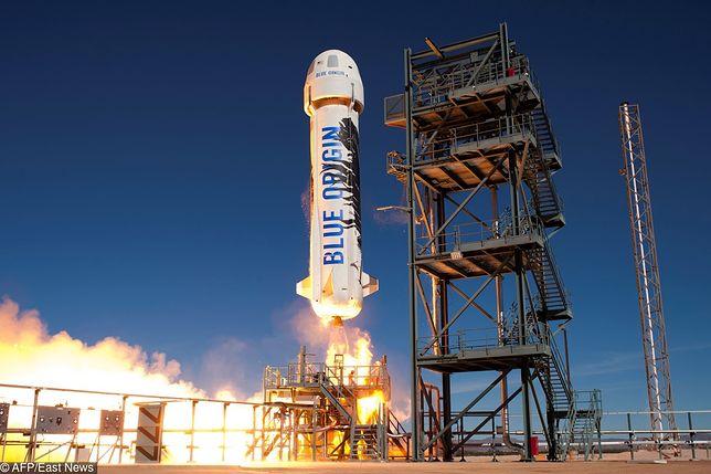 Wiemy już, ile będzie kosztował turystyczny lot w kosmos statkiem Bezosa
