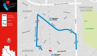 Od piątku od godz. 23.00 do poniedziałku do godz. 6.00 zamknięty przejazd przez tory kolejowe na ul. Karczunkowskiej