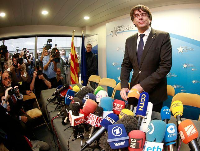 Jest Europejski Nakaz Aresztowania Puigdemonta