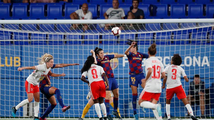 FC Barcelona vs. Juventus Turyn, mistrzostwa UEFA kobiet (Eric Alonso/Getty Images)