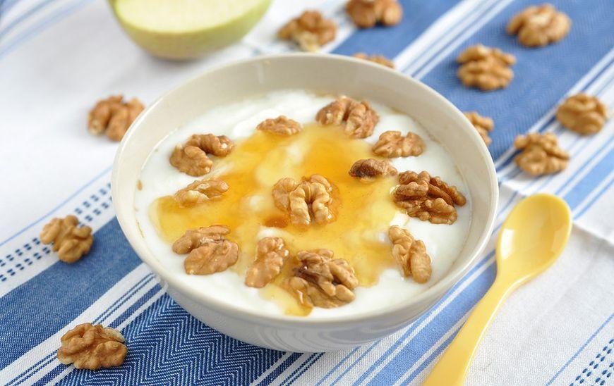 Przekąska: jogurt