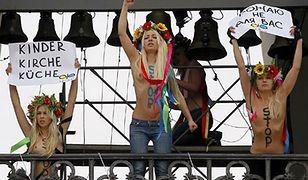 Femen protestuje w Kijowie