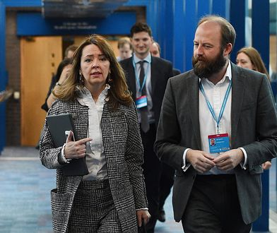 Fiona Hill i doradca Theresy May Nick Timothy