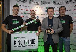 Robert Więckiewicz laureatem Diamentowego Klapsa Filmowego, nagrody festiwalu BNP Paribas Kino Letnie Sopot-Zakopane