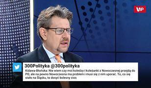 """Piotr Misiło o przejściu Kałuży do PiS. """"W Nowoczesnej chciano zamieść tę sprawę pod dywan"""""""