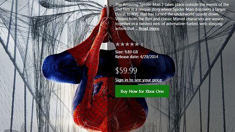"""""""Bezterminowo opóźniony"""" The Amazing Spider-Man 2 jednak wskoczył na Xboksa One"""