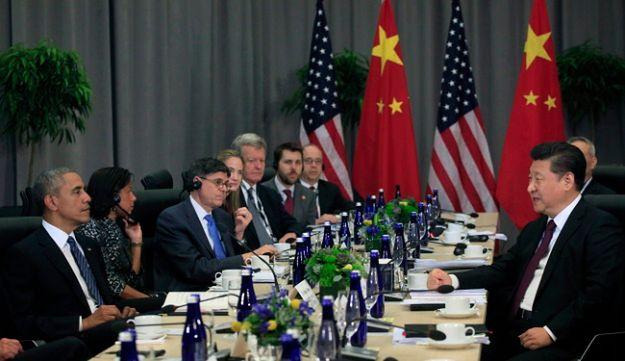 Spotkanie Baracka Obamy i Xi Jinpinga