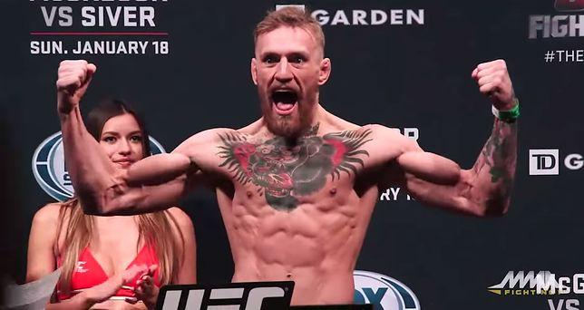 """Conor McGregor, mistrz UFC, w """"Grze o tron"""""""