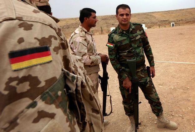 Niemieckie szkolenie wojskowe dla kurdyjskich peszmergów