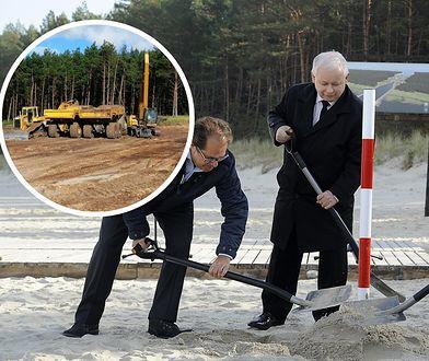 Przekop Mierzei Wiślanej. Marzenie Jarosława Kaczyńskiego zaczyna się spełniać.