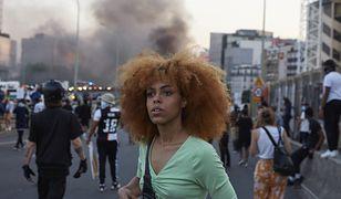 Blackout Tuesday. Trwają czarne protesty w związku z ruchem Black Lives Matter (fot. Adnan Farzat)